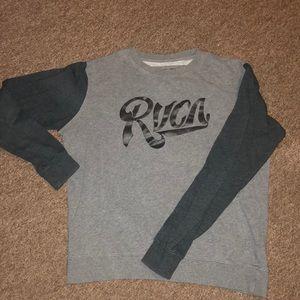 RVCA Crew neck sweater